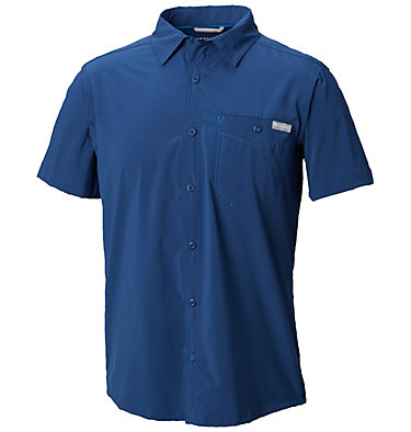 Men's Triple Canyon™ Solid Short Sleeve Shirt Triple Canyon™ Solid Short Sle | 160 | L, Carbon, front