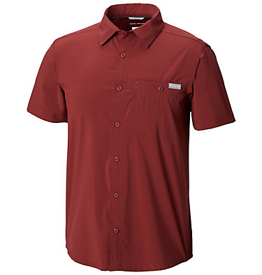 Men's Triple Canyon™ Solid Short Sleeve Shirt Triple Canyon™ Solid Short Sle | 160 | L, Tapestry, front