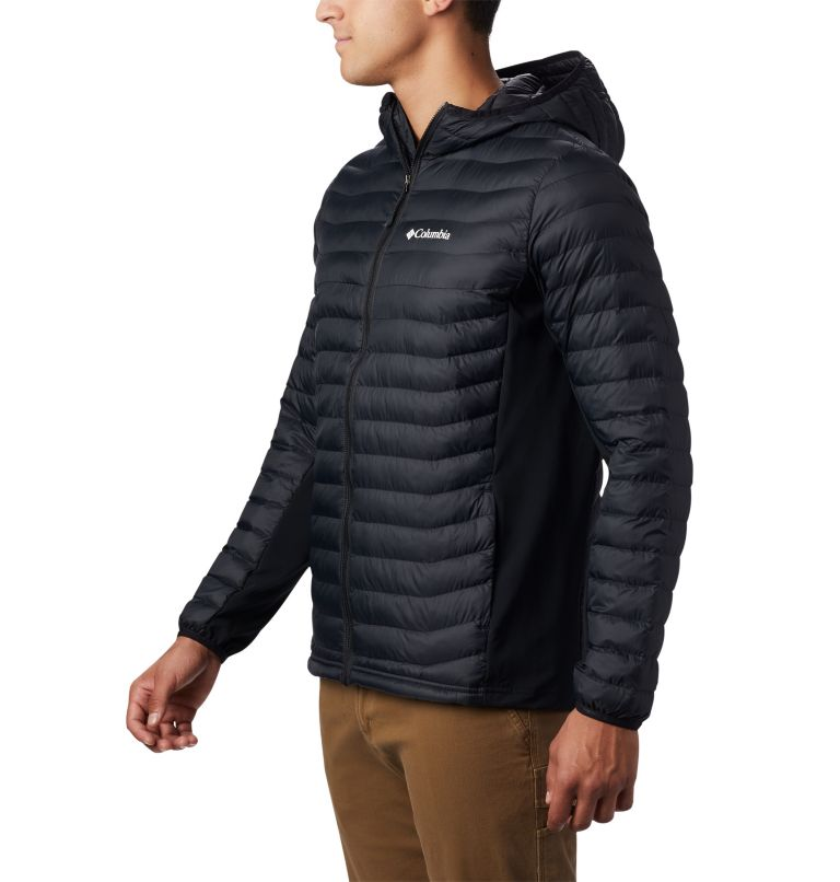 Powder Pass™ Hooded Jacket | 011 | XL Doudoune à Capuche Powder Pass™ Homme, Black, a1