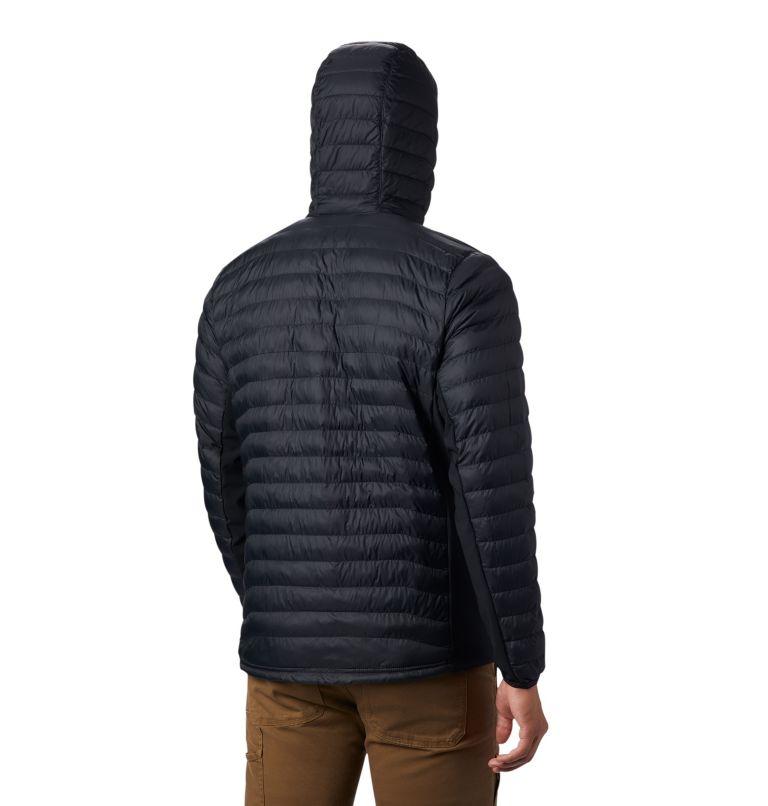 Powder Pass™ Hooded Jacket | 011 | S Doudoune à Capuche Powder Pass™ Homme, Black, back