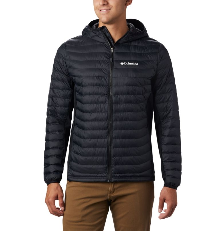 Powder Pass™ Hooded Jacket | 011 | S Doudoune à Capuche Powder Pass™ Homme, Black, front