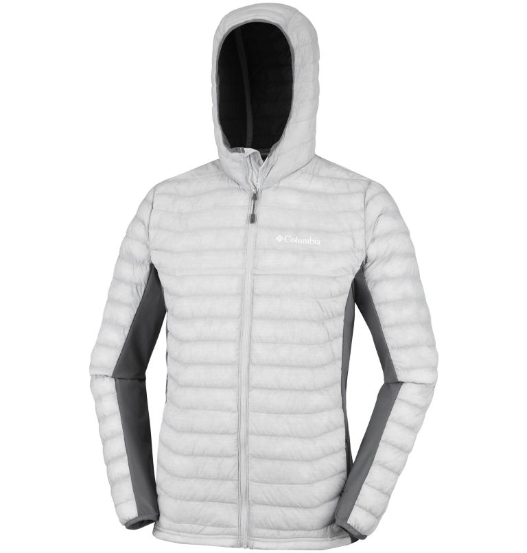 Men's Powder Lite™ Hybrid Hooded Jacket Men's Powder Lite™ Hybrid Hooded Jacket, a1