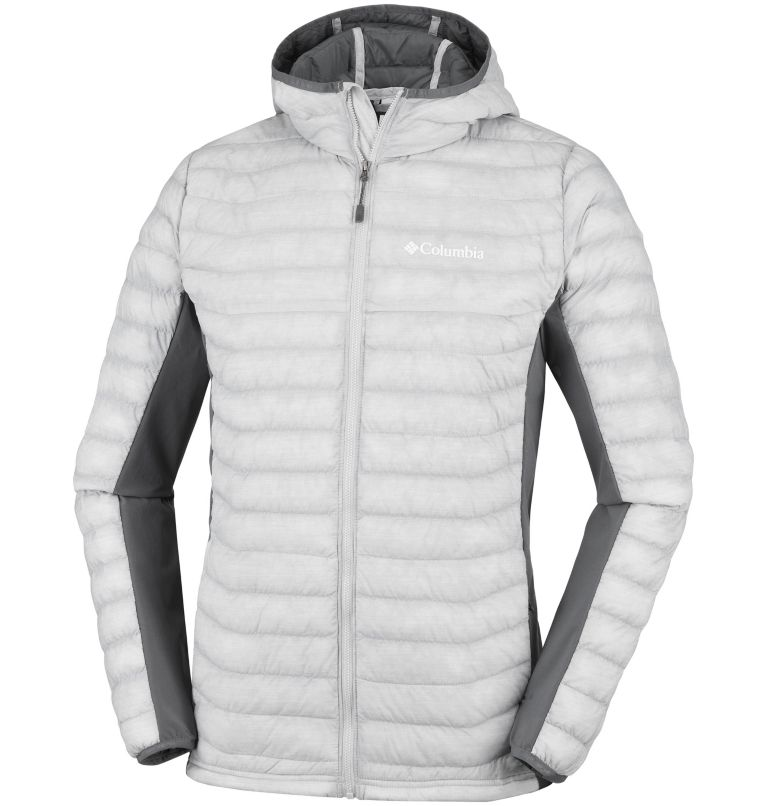 Men's Powder Lite™ Hybrid Hooded Jacket Men's Powder Lite™ Hybrid Hooded Jacket, front