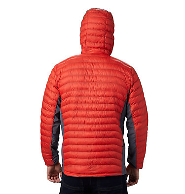 Chaqueta híbrida con capucha Powder Pass™ para hombre Powder Pass™ Hooded Jacket | 437 | S, Wildfire, back