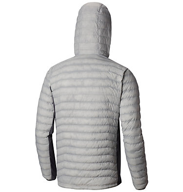 Men's Powder Pass™ Hooded Jacket - plus size Powder Pass™ Hooded Jacket | 019 | 1X, Cool Grey Heather, Graphite, back
