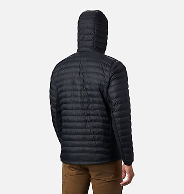 Men's Powder Pass™ Hooded Jacket Powder Pass™ Hooded Jacket | 011 | L, Black, back