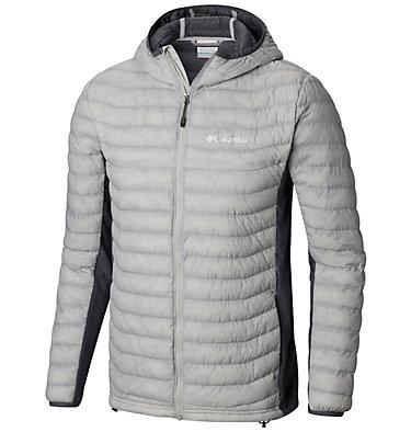 Veste à capuchon Powder Pass™ pour homme Powder Pass™ Hooded Jacket | 441 | XXL, Cool Grey Heather, Graphite, front