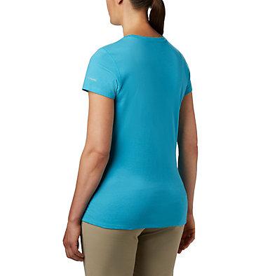 Women's Solar Shield™ Short Sleeve Shirt Solar Shield™ Short Sleeve Shirt | 450 | XL, Clear Water, back
