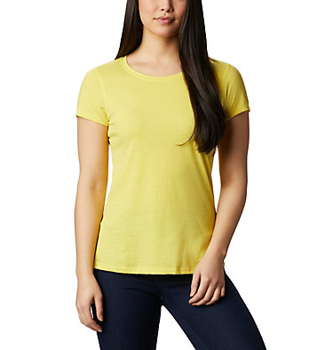 Women's Solar Shield™ Short Sleeve Shirt Solar Shield™ Short Sleeve Shirt | 100 | L, Buttercup, front