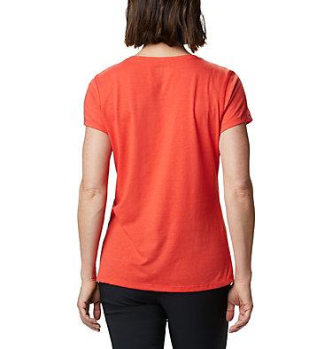 Women's Solar Shield™ Short Sleeve Shirt Solar Shield™ Short Sleeve Shirt | 100 | L, Bright Poppy, back