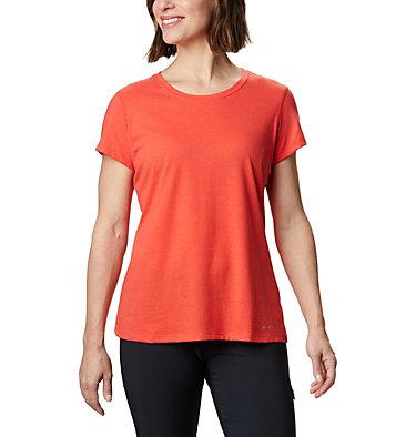 Women's Solar Shield™ Short Sleeve Shirt Solar Shield™ Short Sleeve Shirt | 100 | L, Bright Poppy, front