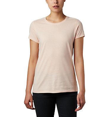 Women's Solar Shield™ Short Sleeve Shirt Solar Shield™ Short Sleeve Shirt | 100 | L, Peach Cloud, front