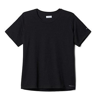 Women's Solar Shield™ Short Sleeve Shirt – Plus Size Solar Shield™ Short Sleeve Shirt | 634 | 1X, Black, front