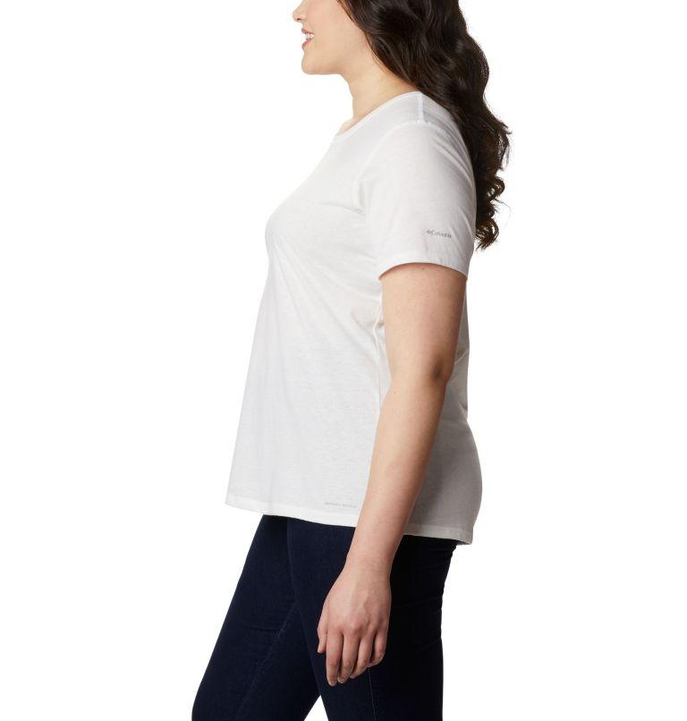Solar Shield™ Short Sleeve Shirt | 100 | 2X Women's Solar Shield™ Short Sleeve Shirt – Plus Size, White, a1