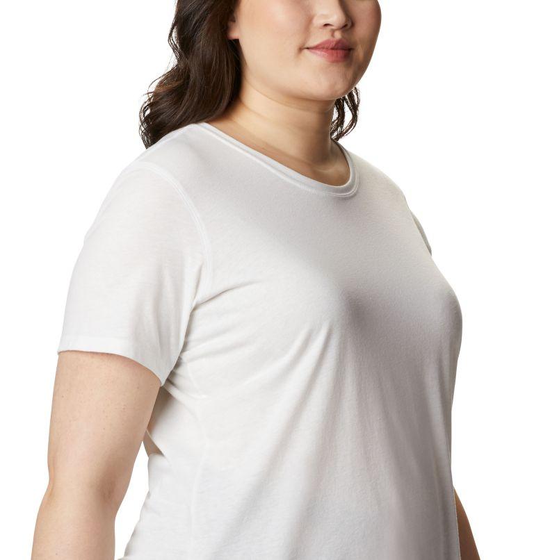 Solar Shield™ Short Sleeve Shirt | 100 | 3X Women's Solar Shield™ Short Sleeve Shirt – Plus Size, White, a3