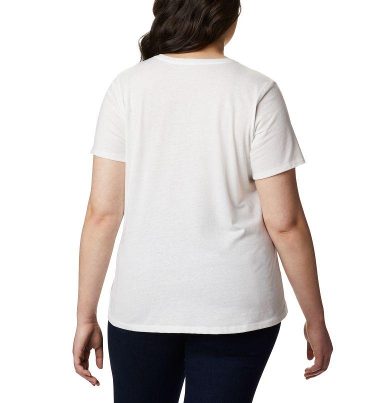 Solar Shield™ Short Sleeve Shirt | 100 | 2X Women's Solar Shield™ Short Sleeve Shirt – Plus Size, White, back