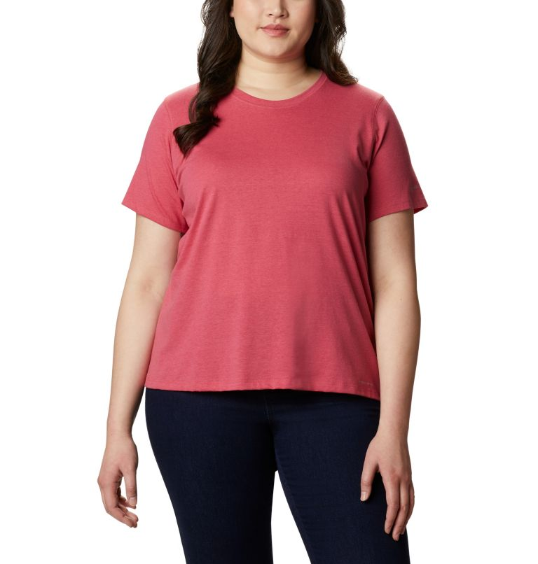 Women's Solar Shield™ Short Sleeve Shirt - Plus Size Women's Solar Shield™ Short Sleeve Shirt - Plus Size, front