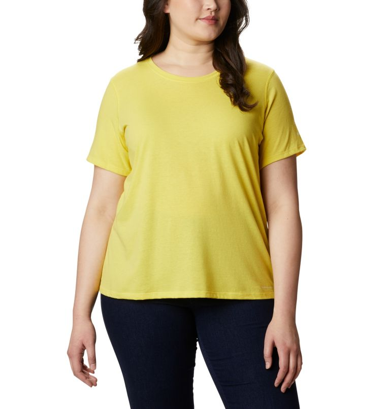 Women's Solar Shield™ Short Sleeve Shirt – Plus Size Women's Solar Shield™ Short Sleeve Shirt – Plus Size, front