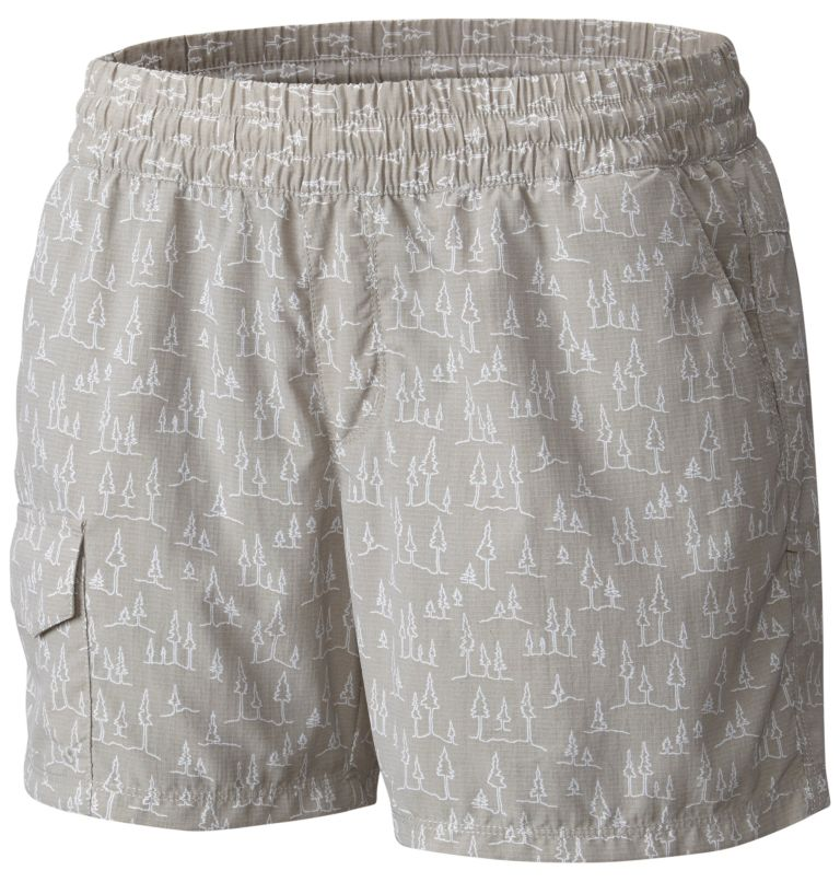 Women's Silver Ridge™ Printed Pull On Shorts Women's Silver Ridge™ Printed Pull On Shorts, front