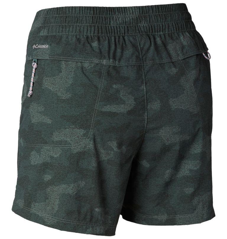 Women's Silver Ridge™ Printed Pull-On Shorts - Plus Size Women's Silver Ridge™ Printed Pull-On Shorts - Plus Size, back