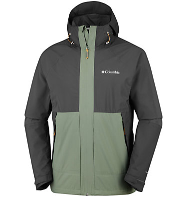 Men's Evolution Valley™ Jacket Evolution Valley™ Jacket | 613 | S, Cypress, Shark, front