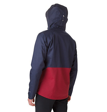Veste Evolution Valley™ Homme Evolution Valley™ Jacket | 469 | S, Collegiate Navy Heather, Red Jasper, back