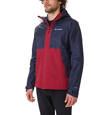 Veste Evolution Valley™ Homme Evolution Valley™ Jacket | 469 | S, Collegiate Navy Heather, Red Jasper, front