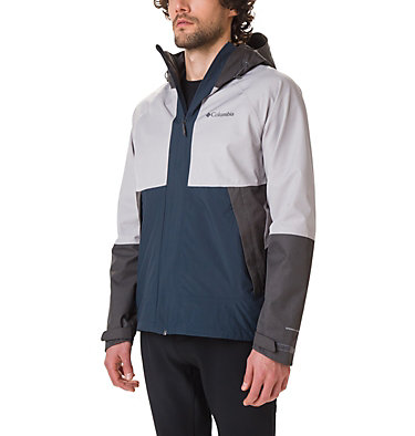 Men's Evolution Valley™ Jacket Evolution Valley™ Jacket | 613 | S, Night Shadow, Columbia Grey Heather, front