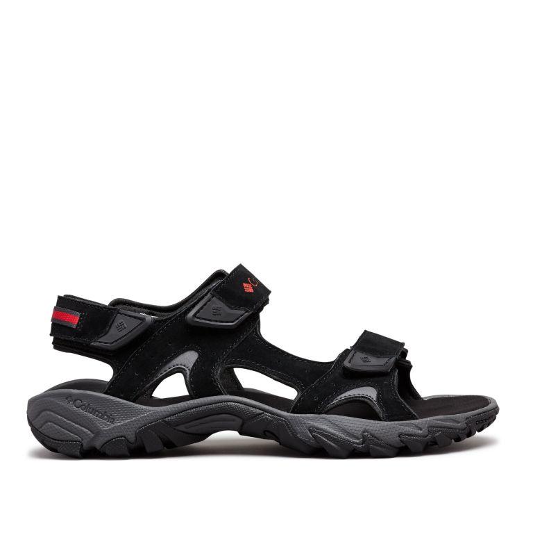 SANTIAM™ 3 STRAP | 010 | 11 Men's Santiam™ 3 Strap Sandal, Black, Mountain Red, front