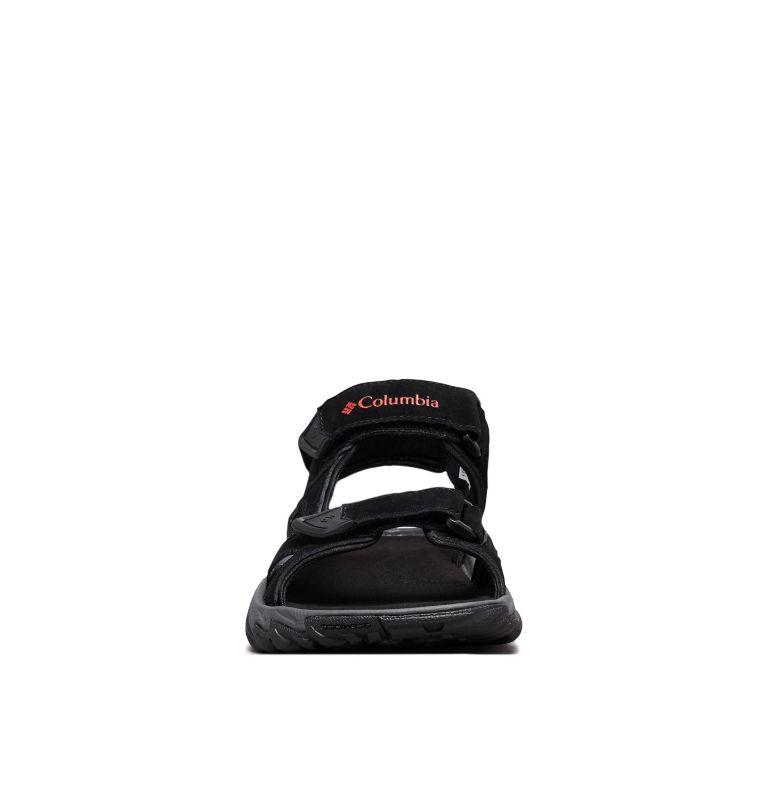 SANTIAM™ 3 STRAP | 010 | 11 Men's Santiam™ 3 Strap Sandal, Black, Mountain Red, toe