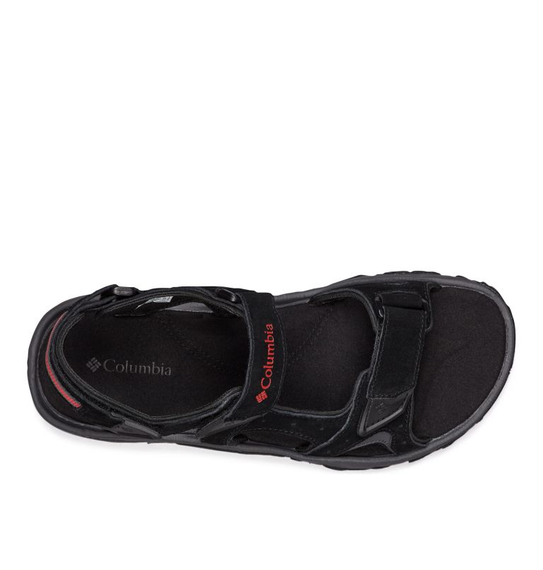 SANTIAM™ 3 STRAP | 010 | 8 Sandali Santiam™ 3 Strap da uomo, Black, Mountain Red, top