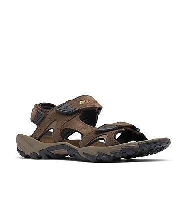 Men's Santiam™ 3 Strap Sandal SANTIAM™ 3 STRAP | 231 | 10, Cordovan, Dark Banana, 3/4 front