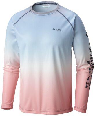 c7c8a45535 Men's PFG Solar Shade™ Printed Long Sleeve Shirt