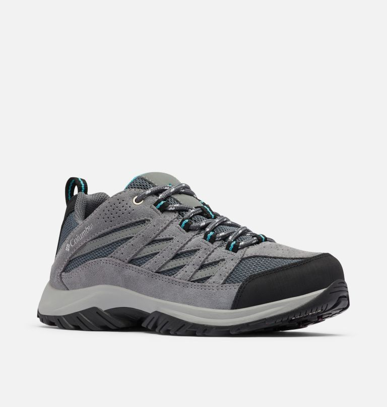CRESTWOOD™ | 053 | 5.5 Women's Crestwood™ Hiking Shoe, Graphite, Pacific Rim, 3/4 front