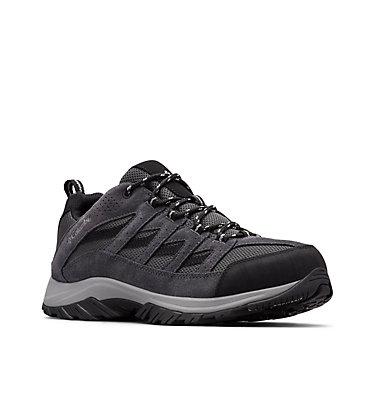 Men's Crestwood™ Hiking Shoe CRESTWOOD™ | 208 | 10, Shark, Columbia Grey, 3/4 front