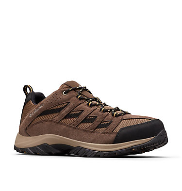 Men's Crestwood™ Hiking Shoe CRESTWOOD™ | 203 | 10.5, Dark Brown, Baker, 3/4 front