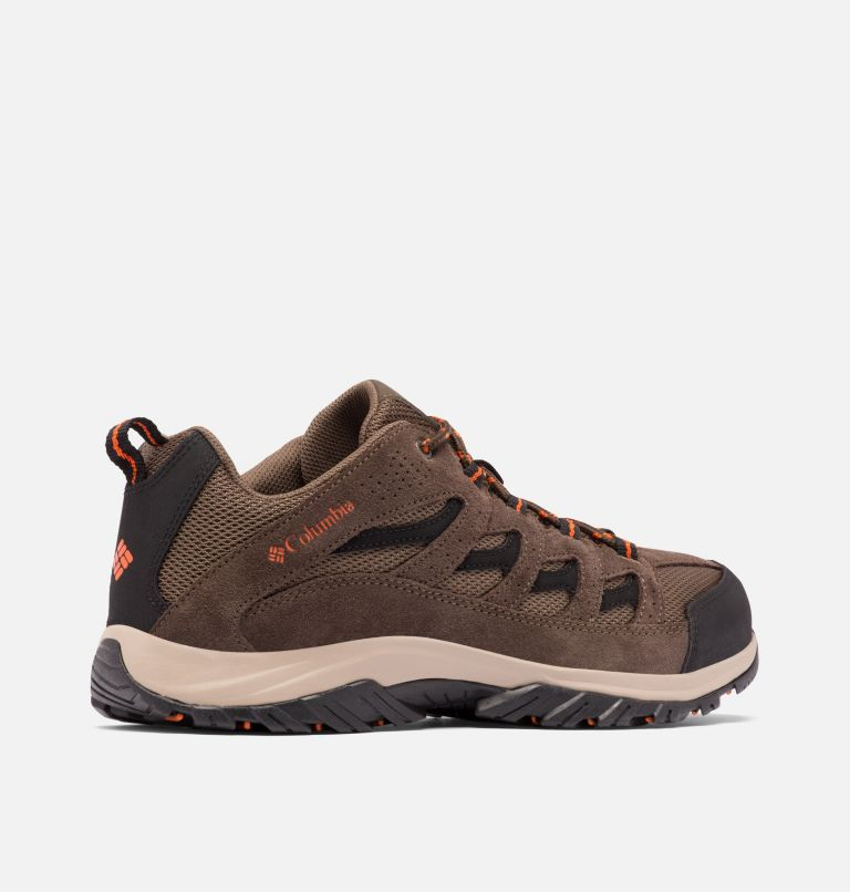 CRESTWOOD™ | 208 | 12 Men's Crestwood™ Hiking Shoe, Camo Brown, Heatwave, 3/4 back