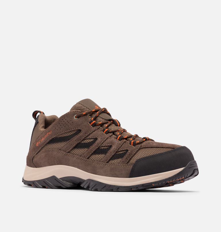 CRESTWOOD™ | 208 | 12 Men's Crestwood™ Hiking Shoe, Camo Brown, Heatwave, 3/4 front