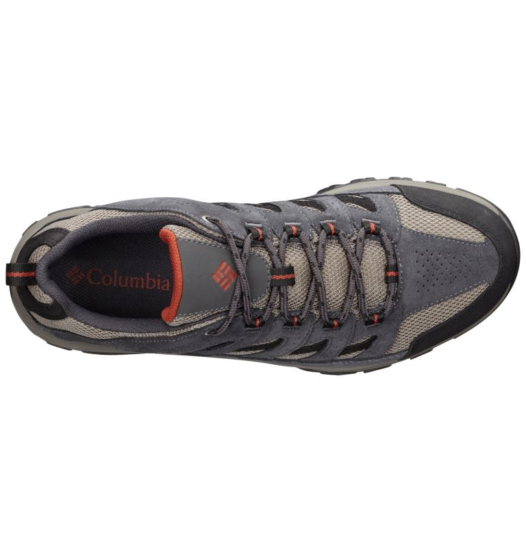 CRESTWOOD™ WIDE | 052 | 15 Men's Crestwood™ Hiking Shoe – Wide, Quarry, Rusty, back