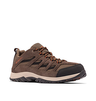 Men's Crestwood™ Hiking Shoe – Wide CRESTWOOD™ WIDE | 208 | 10, Camo Brown, Heatwave, 3/4 front