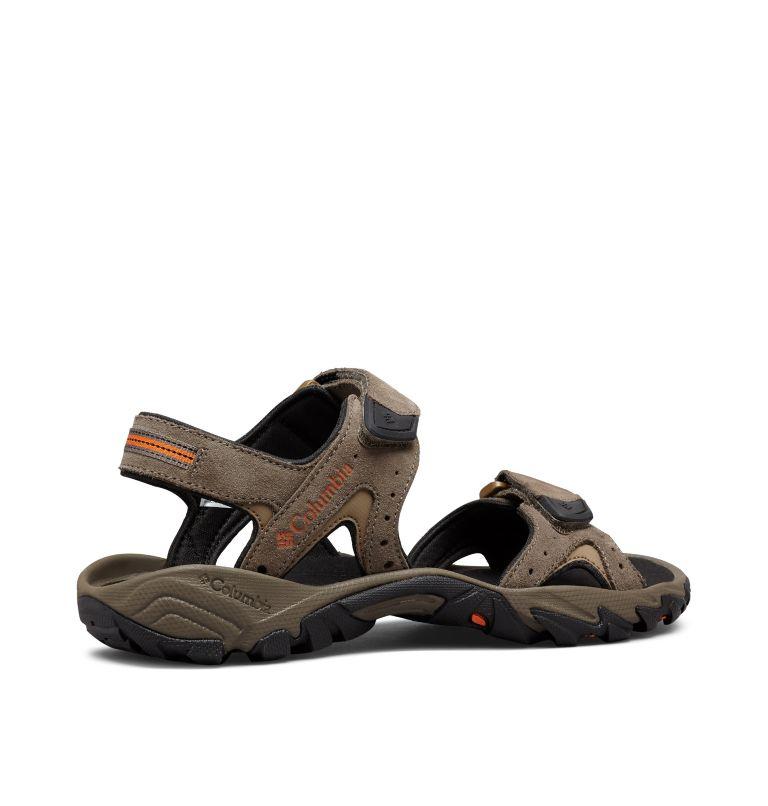 SANTIAM™ 2 STRAP | 255 | 13 Men's Santiam™ Ankle Strap Sandal, Mud, Heatwave, 3/4 back