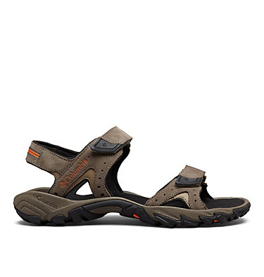 Men's Santiam™ Ankle Strap Sandal SANTIAM™ 2 STRAP | 255 | 10, Mud, Heatwave, front