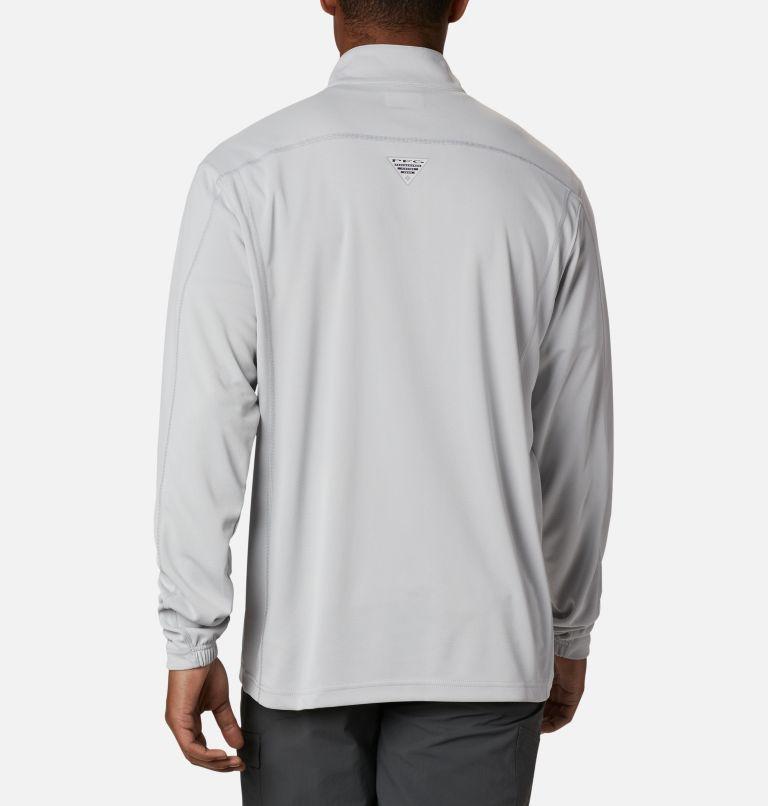 Low Drag™ 1/4 Zip | 019 | XS Men's PFG Low Drag™ 1/4 Zip Top, Cool Grey, back