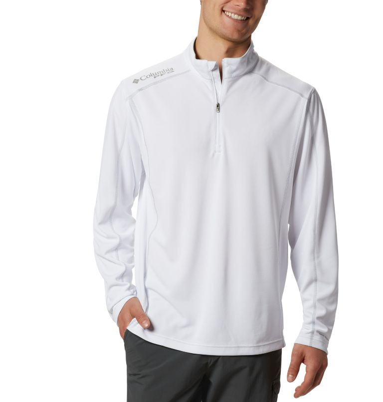 Men's PFG Low Drag™ 1/4 Zip Top Men's PFG Low Drag™ 1/4 Zip Top, front