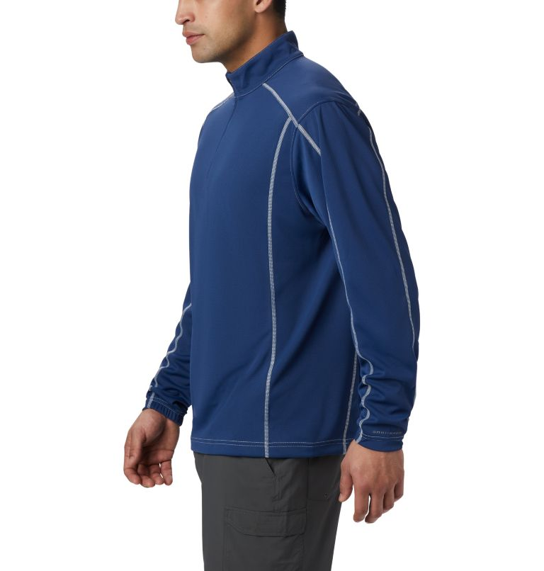 Low Drag™ 1/4 Zip | 469 | XS Men's PFG Low Drag™ 1/4 Zip Top, Carbon, a2