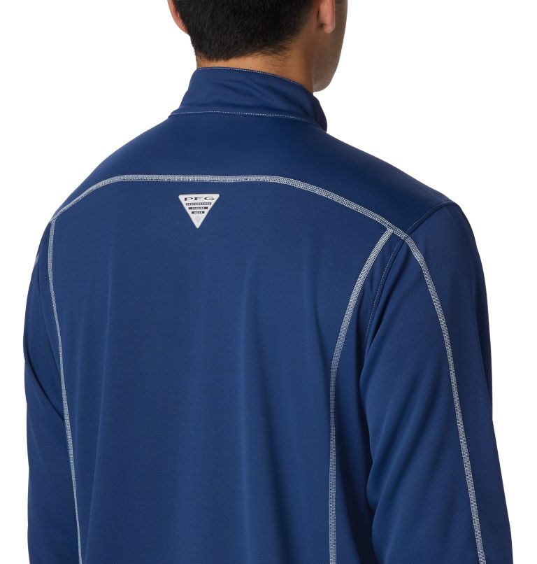 Low Drag™ 1/4 Zip | 469 | XS Men's PFG Low Drag™ 1/4 Zip Top, Carbon, a3