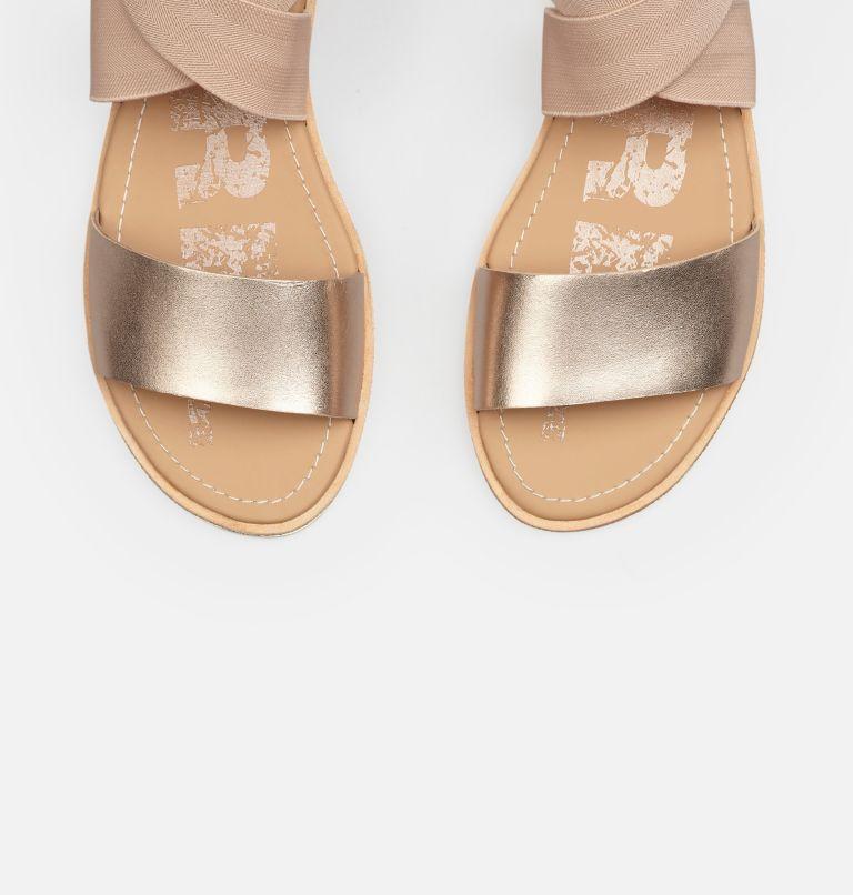 ELLA™ SANDAL | 204 | 9.5 Women's Ella™ Sandal, Warm Gold, top
