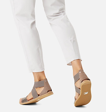 Women's Ella™ Sandal ELLA™ SANDAL | 864 | 7.5, Ash Brown Metallic, video