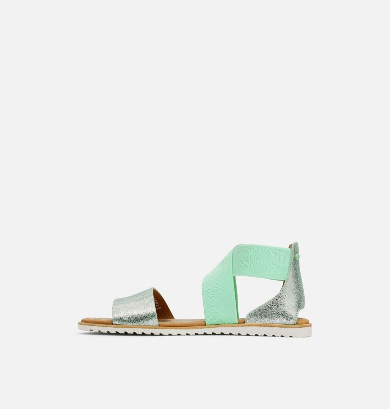 ELLA™ SANDAL | 399 | 11 Women's Ella™ Sandal, Vivid Mint, medial