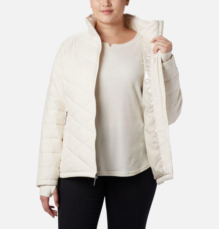 Heavenly™ Jacket | 192 | 3X Women's Heavenly™ Jacket - Plus Size, Chalk, a2